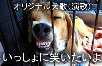オリジナル犬歌(哀愁の犬演歌)